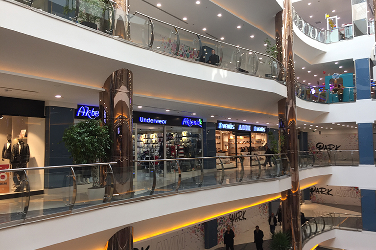 مراکز خرید پارک وان | مهاجر سیر ایرانیان
