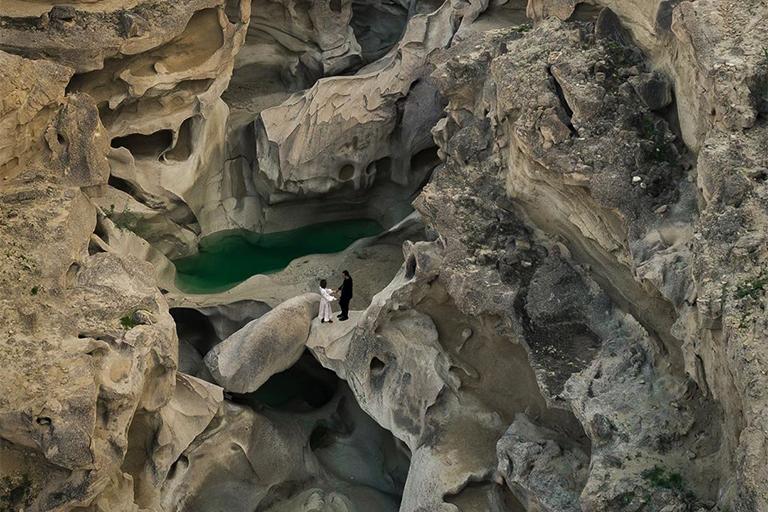 جاذبه های گردشگری جزیره قشم | تنگه چاهکوه | مهاجر سیر ایرانیان
