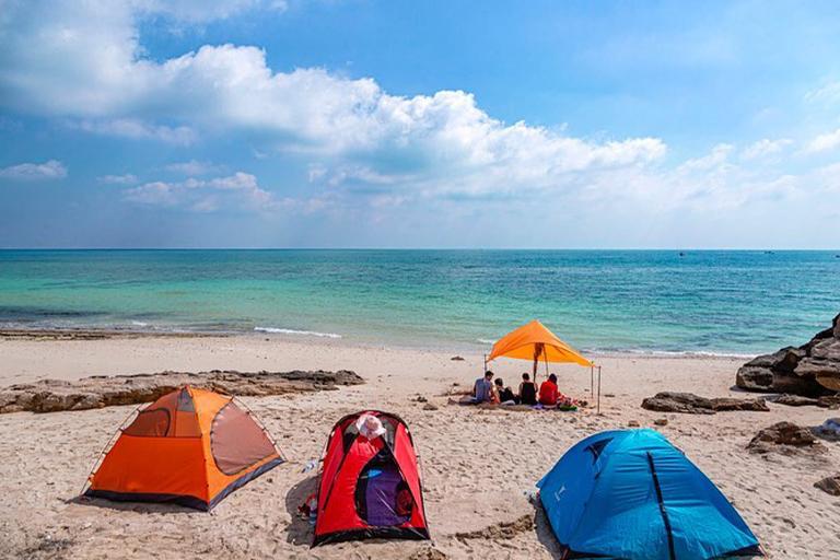 جاذبه های گردشگری جزیره هنگام| ساحل نقره ای | مهاجر سیر ایرانیان