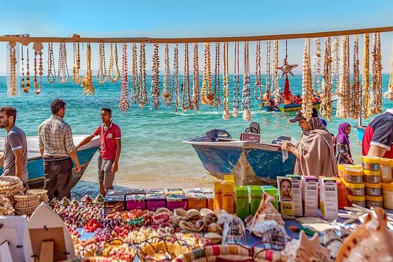 جاذبه های گردشگری جزیره هنگام| سوغات و غذاهای جزیره هنگام | مهاجر سیر ایرانیان