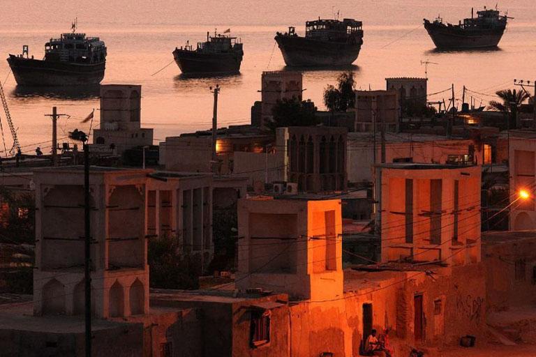 جاذبه های گردشگری جزیره قشم | بندر لافت | مهاجر سیر ایرانیان