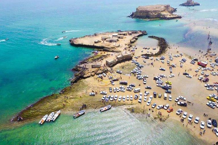 جاذبه های گردشگری جزیره قشم | جزیره ناز | مهاجر سیر ایرانیان