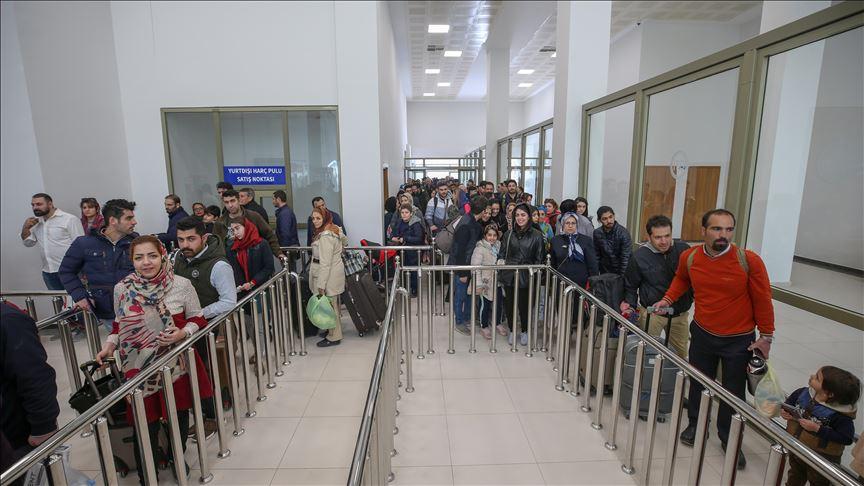 ترمینال مسافربری خوی | خوی به وان | مهاجر سیر ایرانیان